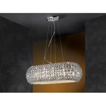 Lámpara de techo 10 luces