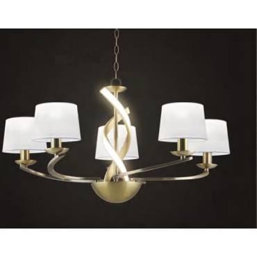Lámpara de techo 5 luces SCARLETT
