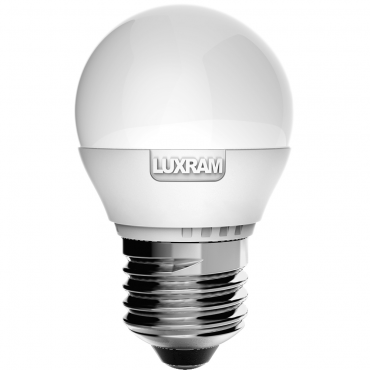 Bombilla LED BALL 6,5W-E27