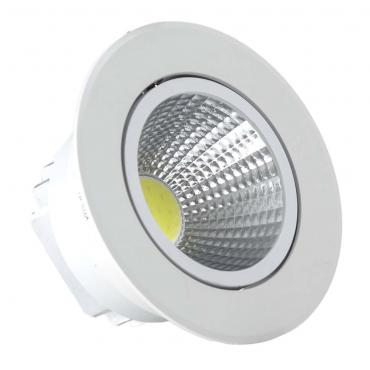 Foco empotrable LED 7W Blanco