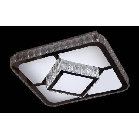 Plafón led de cristal DIAMOND