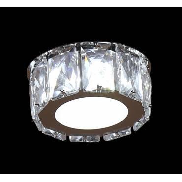 Foco Led 5w cristal.