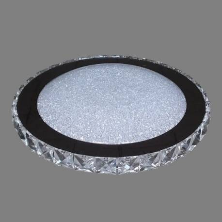Plafon Led 18w cristal.