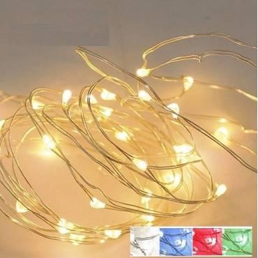 Guirnalda alambre LED 10M