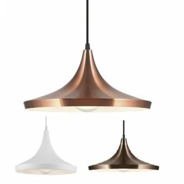Lámpara colgante CAMPANA en metal diferentes acabados.