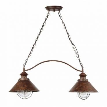 Lámpara colgante NAUTICA marrón óxido