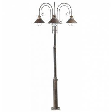 Lámpara farola NAUTICA-8 marrón óxido