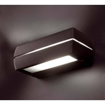 Lámpara aplique DRAGMA gris oscuro
