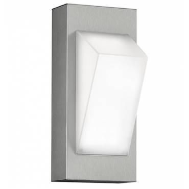 Aplique LED 7W en acero 21 cm.