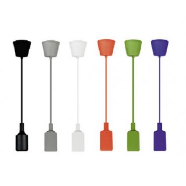 Pendel silicona de colores .