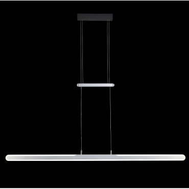 Lámpara colgante plata led 43W