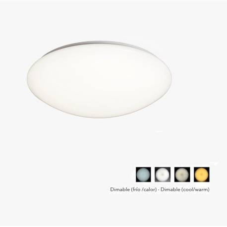 Plafón de techo LED ZERO 60W con mando a distancia